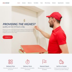 Delivery Website