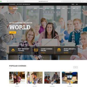 LMS Website for Coaching Institutes