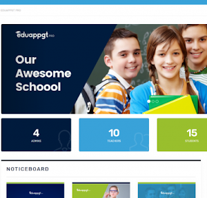 Large School Website