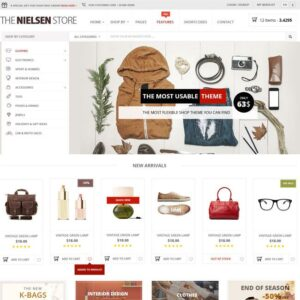 Professional  ECommerce Website