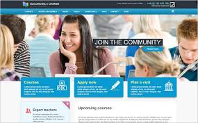 LMS Professional Website for Single Teachers